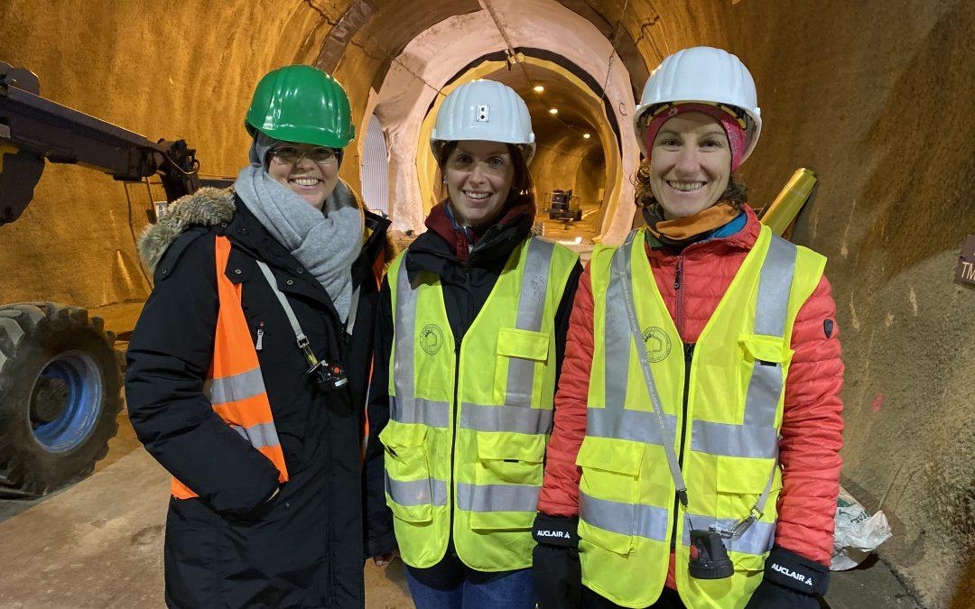 Frauen im Tunnelbau