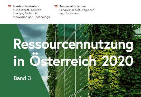 Ressourcennutzung in Österreich 2020
